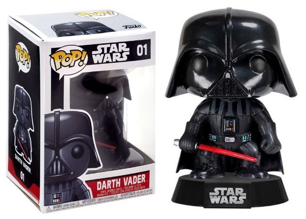 Pop Funko 01 Darth Vader Star Wars
