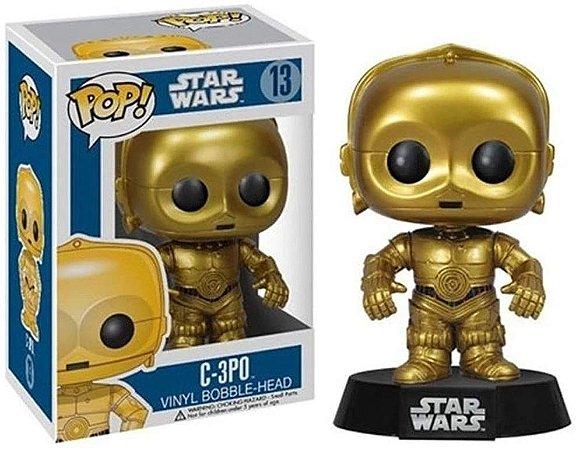 Pop Funko 13 C-3P0 Star Wars