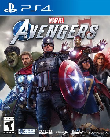 Jogo PS4 Usado Marvel Avengers