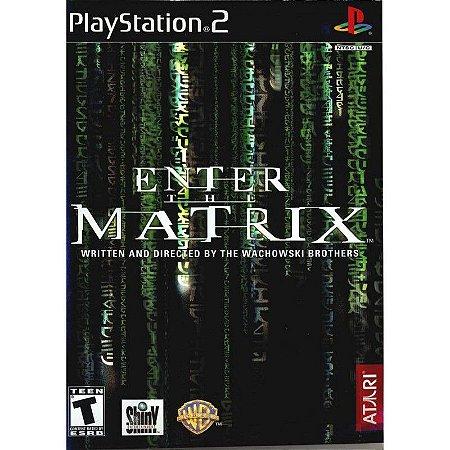 Jogo PS2 Usado Enter The Matrix