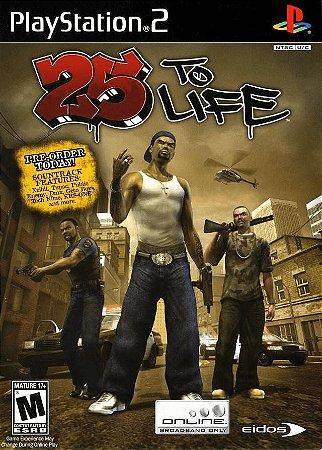 Jogo PS2 Usado 25 to Life