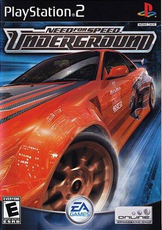 Jogo PS2 Usado NFS: Underground