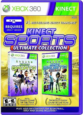 Jogo XBOX 360 Usado Kinect Sports Ultimate
