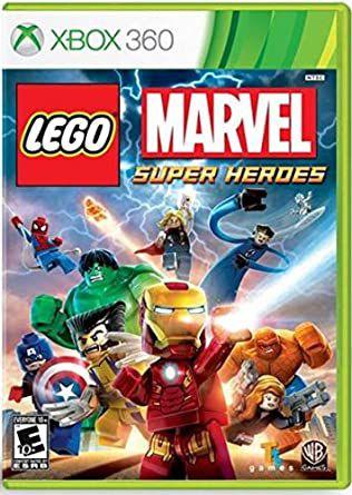 Jogo XBOX 360 Usado LEGO Marvel Super Heroes