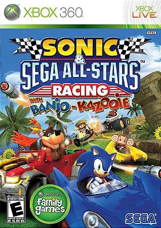 Jogo XBOX 360 Usado Sonic & Sega All Star Racing