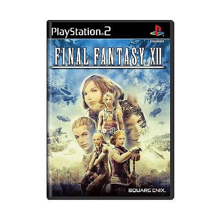 Jogo PS2 Usado Final Fantasy XII