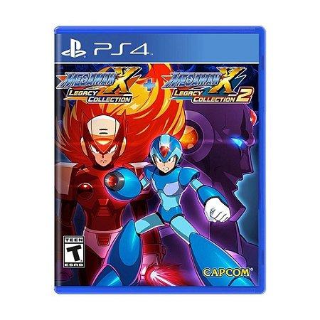 Jogo PS4 Usado Mega Man X Legacy Collection