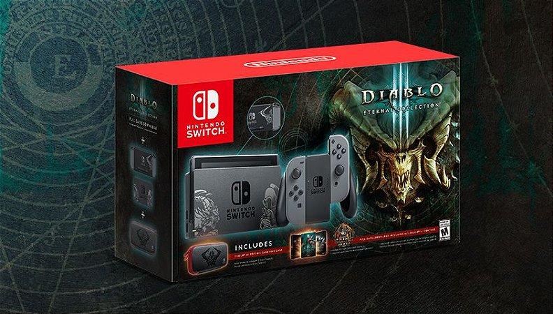 Console Usado Nintendo Switch Diablo 3 Bundle