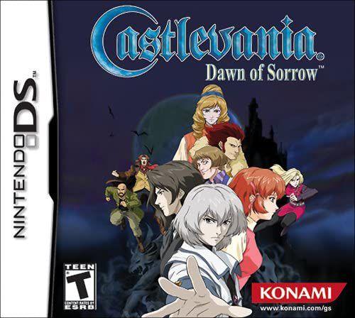 Jogo NDS Novo Castlevania: Dawn of Sorrow