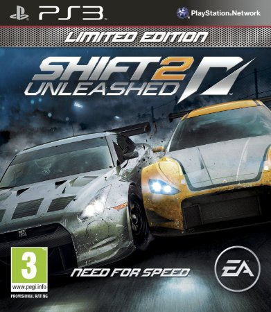 Jogo PS3 Usado Need for Speed Shift 2 Unleashed: Limited Edition