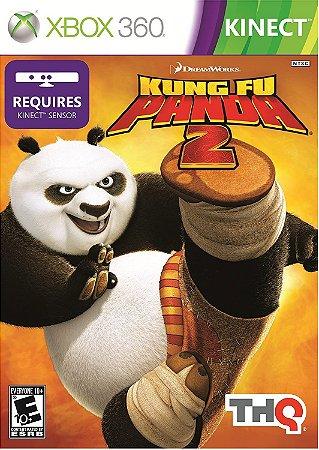 Jogo XBOX 360 Usado Kung Fu Panda 2 Kinect