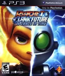 Jogo PS3 Usado Ratchet and Clank: A Crack in Time
