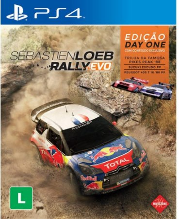 Jogo PS4 Usado Sébastien Loeb Rally Evo