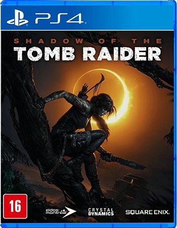 Jogo PS4 Novo Shadow Of The Tomb Raider