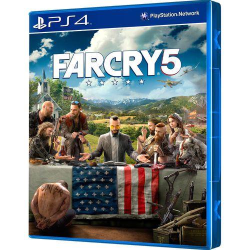 Jogo PS4 Novo Far Cry 5