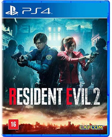 Jogo  PS4 Novo Resident Evil 2