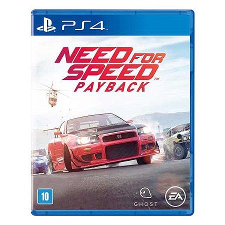 Jogo PS4 Novo Need for Speed: Payback