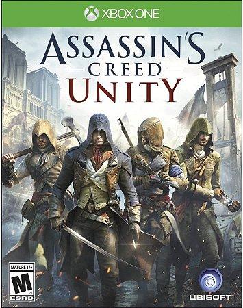 Jogo XBOX ONE Usado Assassin's Creed Unity