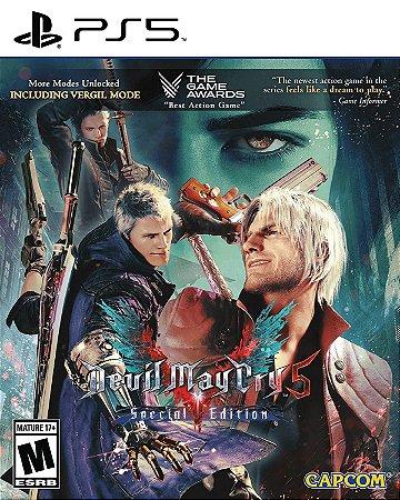Jogo PS5 Novo Devil May Cry 5 Special Edition