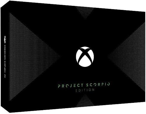 Console Usado Xbox One X 1TB Project Scorpio