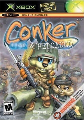 Jogo XBOX Usado Conker Live & Reloaded