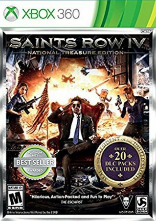 Jogo XBOX 360 Usado Saints Row IV National Treasure Edition