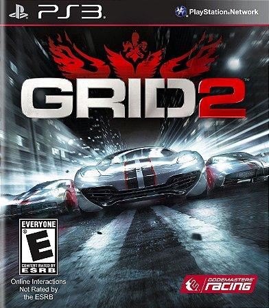 Jogo PS3 Usado Grid 2