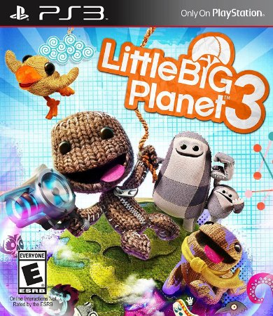 Jogo PS3 Usado Little Big Planet 3