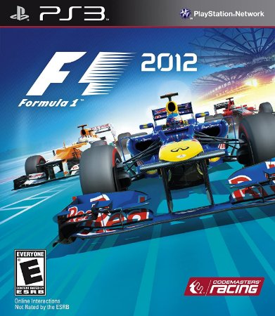 Jogo PS3 Usado F1 2012