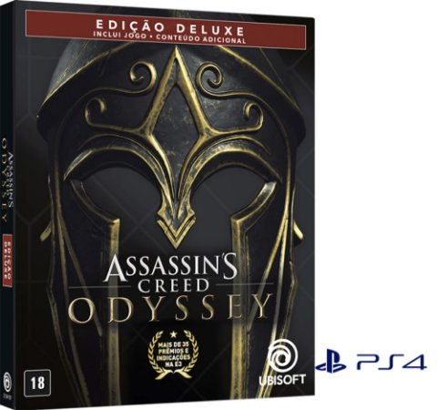 Jogo PS4 Usado Assassin's Creed Odyssey Steelbook