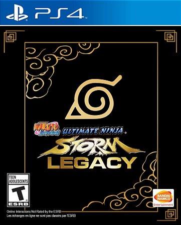 Jogo PS4 Usado Naruto Ultimate Ninja Storm Legacy