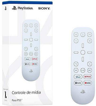 Periférico PS5 Novo Controle de Mídia