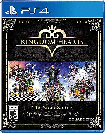 Jogo PS4 Usado Kingdom Hearts the Story So Far
