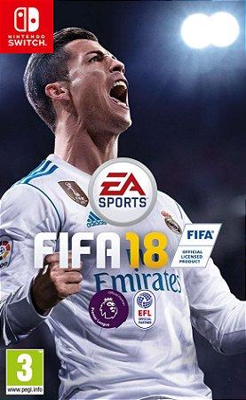 Jogo Nintendo Switch Usado FIFA 18