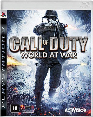 Jogo PS3 Usado Call of Duty World At War