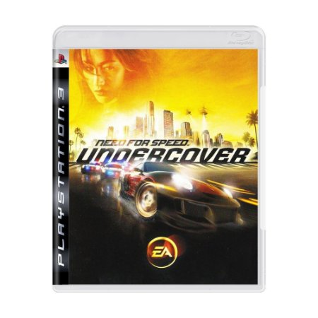 Jogo PS3 Usado Need for Speed Undercover