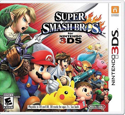 Jogo 3DS Usado Super Smash Bros.