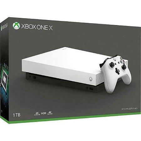 Console Usado Xbox One X 1TB Branco
