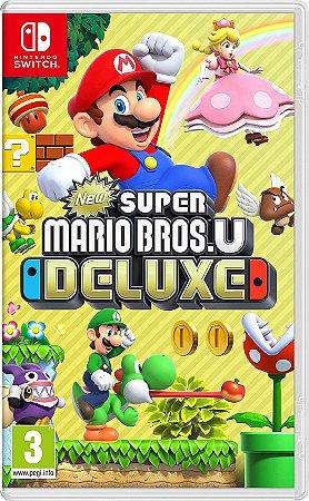 Jogo Nintendo Switch Novo New Super Mario Bros. U Deluxe
