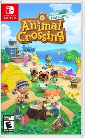 Jogo Nintendo Switch Novo Animal Crossing: New Horizons