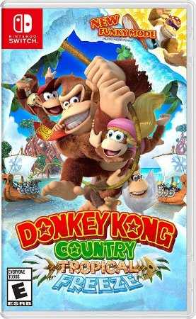 Jogo Nintendo Switch Usado Donkey Kong Country: Tropical Freeze