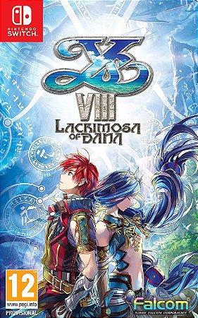 Jogo Switch Usado Ys VIII: Lacrimosa of Dana