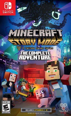 Jogo Nintendo Switch Usado Minecraft: Story Mode - The Complete Adventure