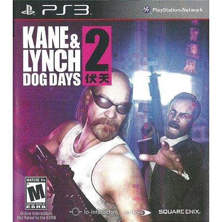 Jogo PS3 Usado Kane & Lynch 2: Dog Days