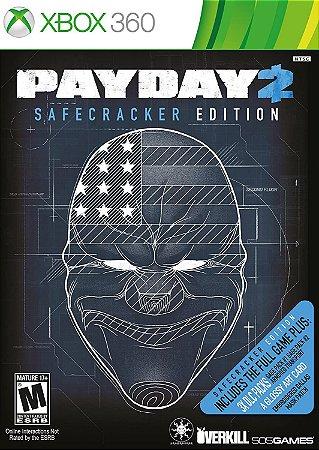 Jogo XBOX 360 Usado Payday 2 Safecracker Edition