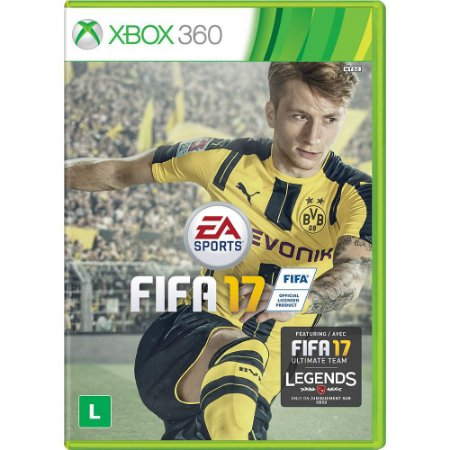 Jogo XBOX 360 Usado FIFA 17