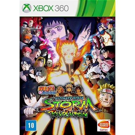 Jogo XBOX 360 Usado Naruto Shippuden Ultimate Ninja Storm Revolution