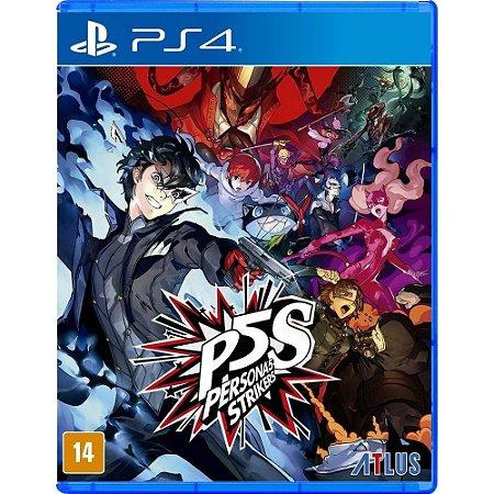 Jogo PS4 Novo Persona 5: Strikers