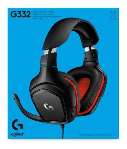 Periférico Novo Headset Logitech G332