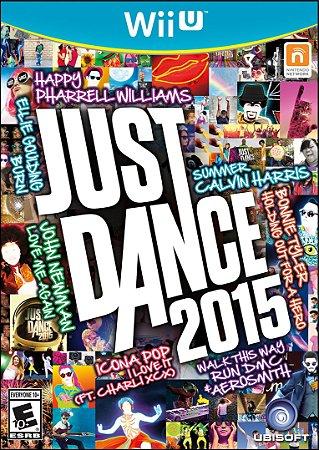 Jogo WiiU Usado Just Dance 2015